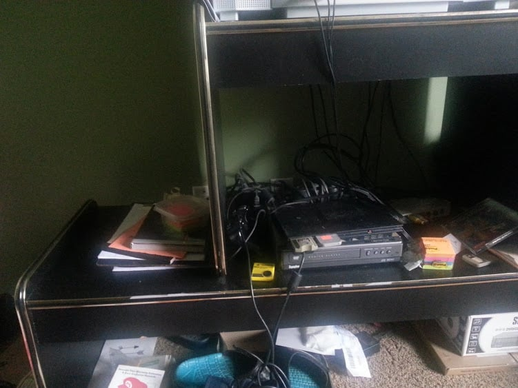 TV stand- After