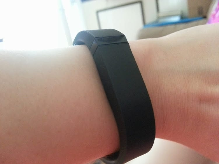 My new fitbit! www.nogettingoffthistrain.com