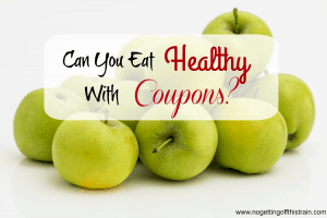 eat healthy with coupons