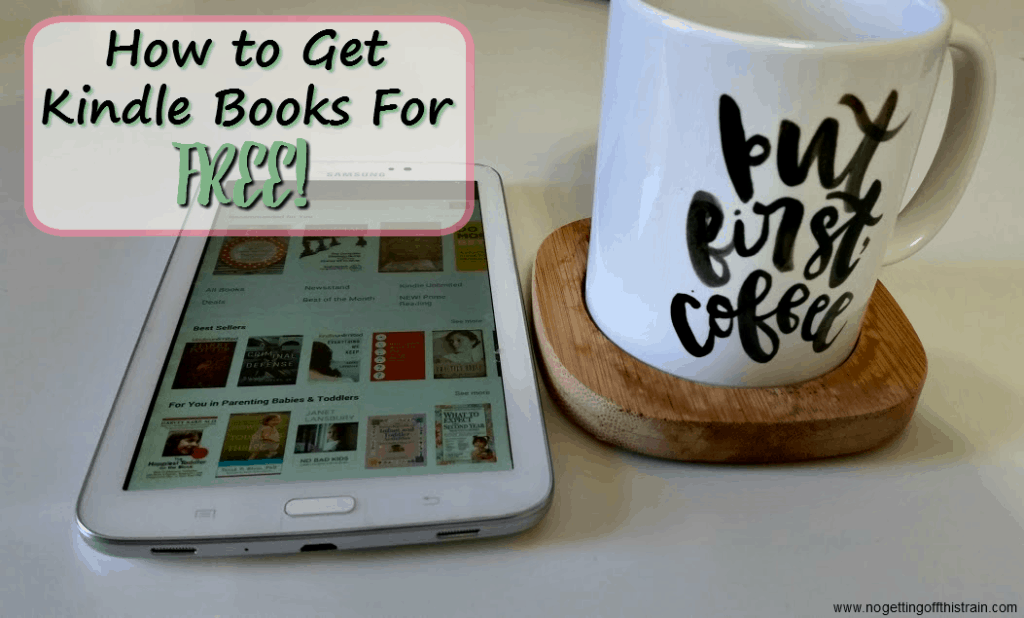 Wondering where to get more e-books for your Kindle? Here are two ways to get free Kindle books for your smartphone or tablet!