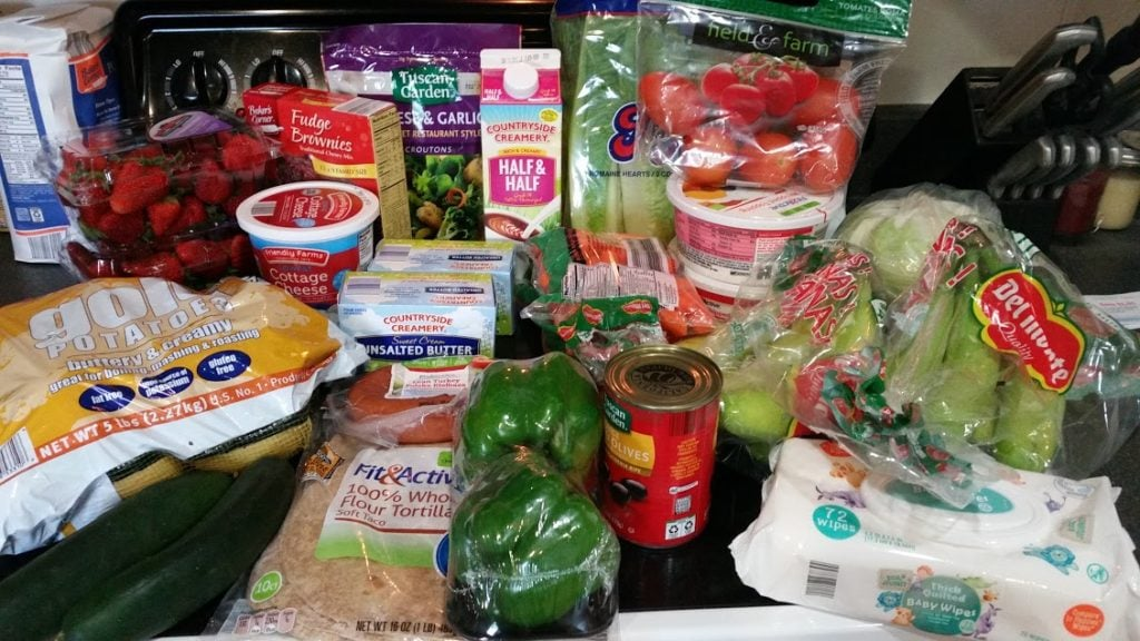 Meal plan, grocery list, and coupon deals for 4-17-17. Want to know what a family of 3 eats for $75 a week? Check back every Monday!