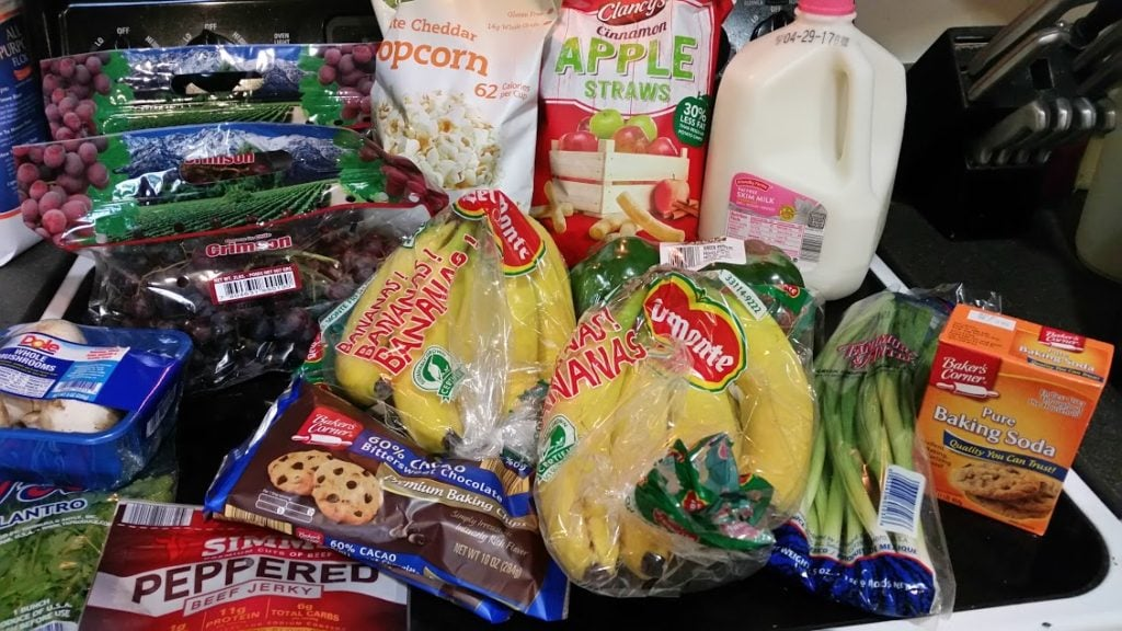 Meal plan, grocery list, and coupon deals for 4-24-17. Want to know what a family of 3 eats for $75 a week? Check back every Monday!