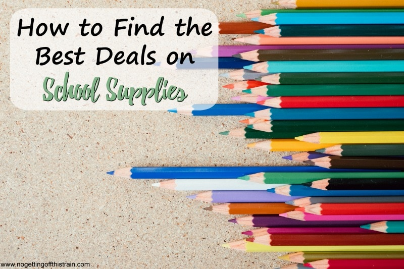 How to Find the Best Deals on School Supplies