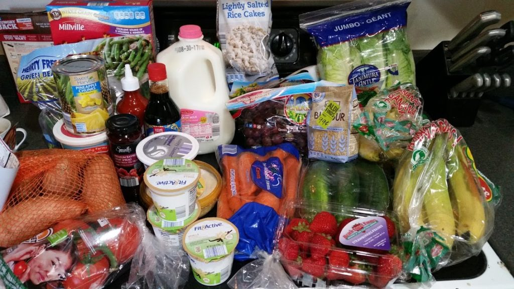 Meal plan, grocery list, and coupon deals for 8-21-17. Want to know what a family of 3 eats for $75 a week? Check back every Monday!