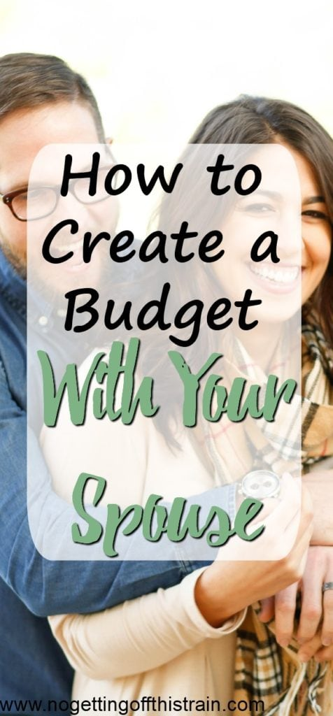 Budgets don't have to be scary! Here are some tips on how to create a budget with your spouse and work together to keep your money in check.