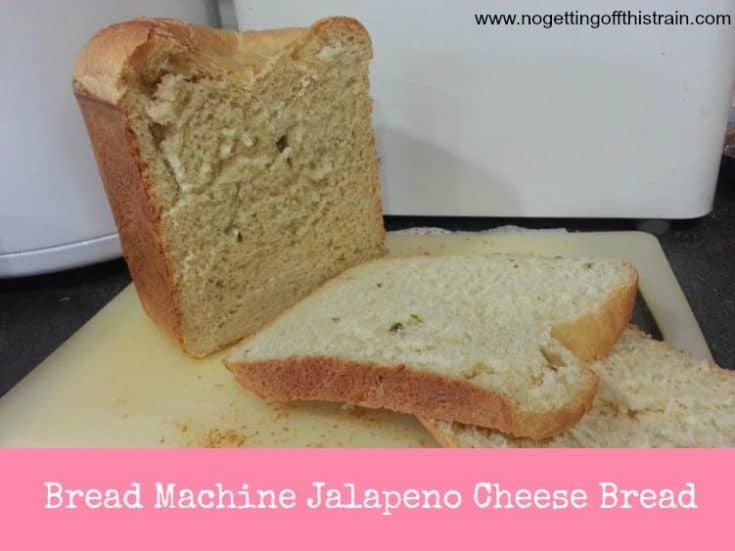 Bread Machine Jalapeno Cheese Bread