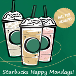 Starbucks: Half Price Frappuccinos TODAY!