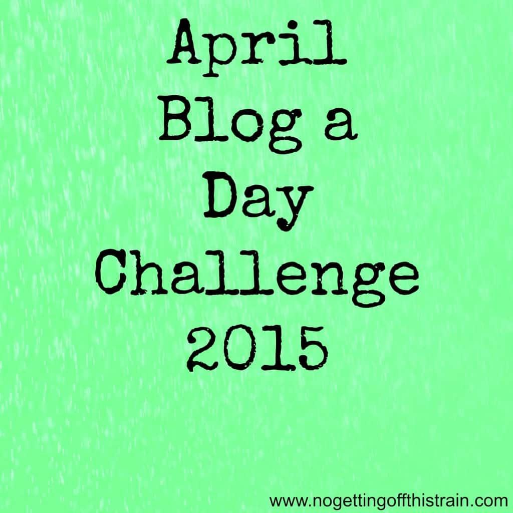april blog a day