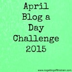 Blog a Day Challenge Day 3: 10 Things About Me