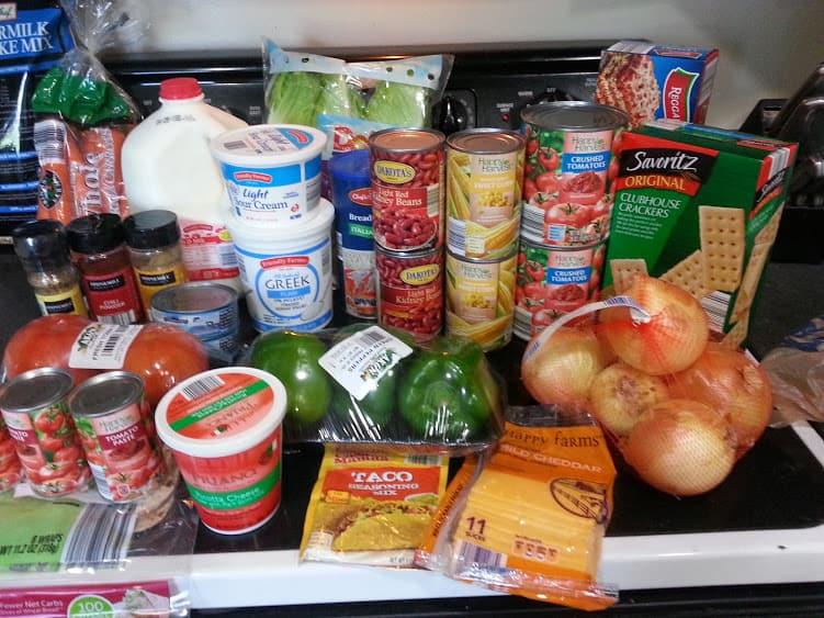 Weekly shopping and menu 4/19: Aldi