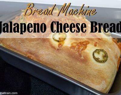 Bread Machine Jalapeno Cheese Bread