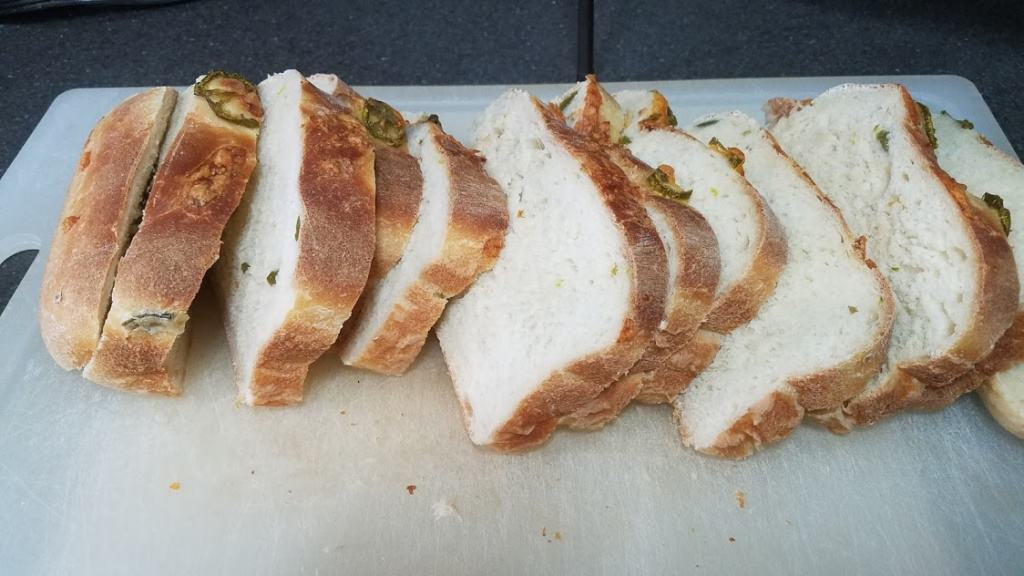 Image of a sliced loaf of bread