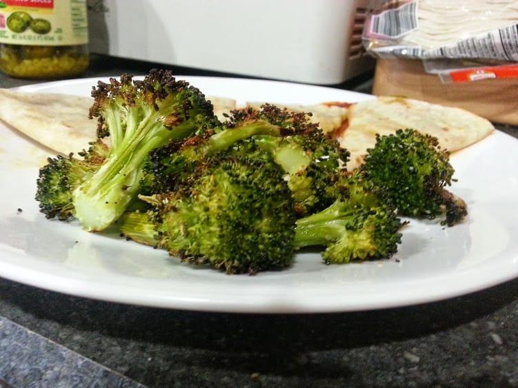 Garlic parmesan roasted broccoli: www.nogettingoffthistrain.com
