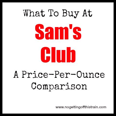 what to buy at sams
