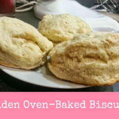 Golden Oven-Baked Biscuits