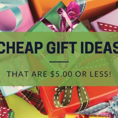 40+ Cheap Gift Ideas Under 5 Dollars