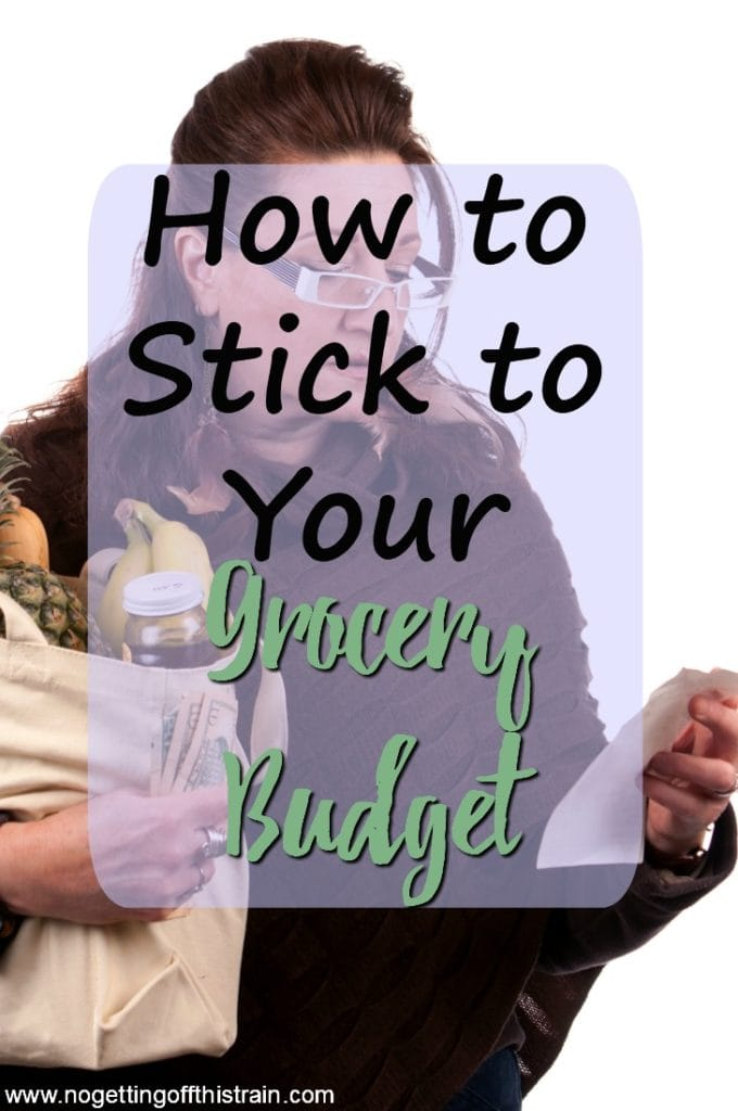 Are you having trouble keeping your grocery bill low? Here are some tips on how to stick to your grocery budget to help save money!