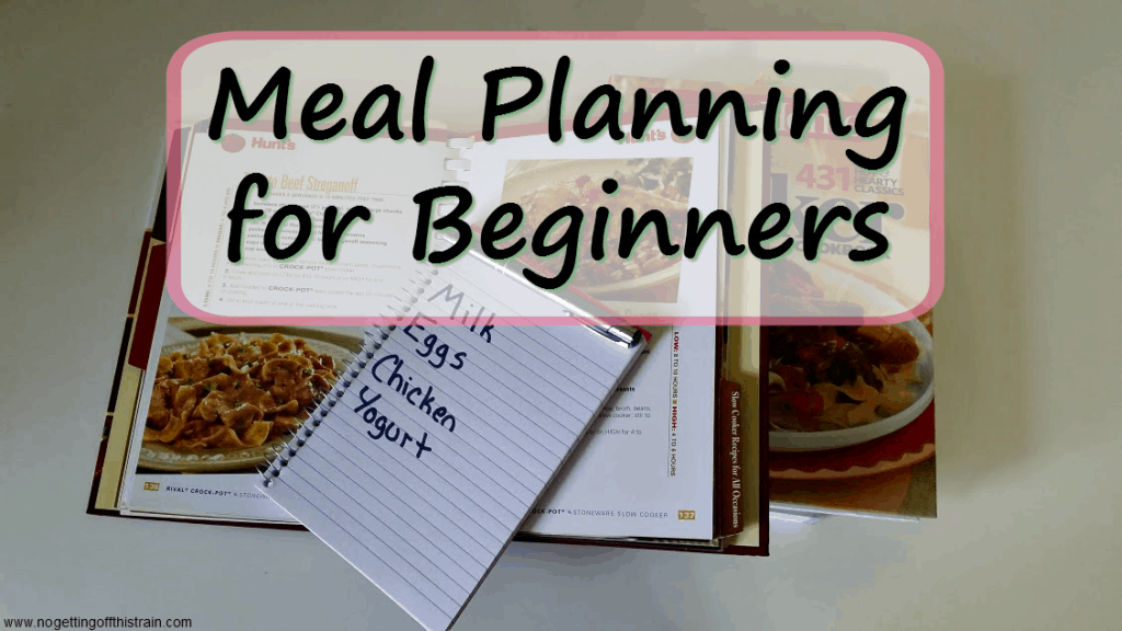 Don't ovecomplicate your grocery list! This Meal Planning for Beginners guide gives you five steps to rocking your planning skills!
