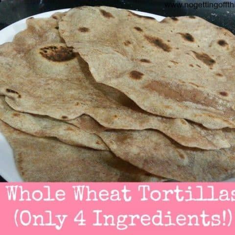 Whole Wheat Tortilla Shells