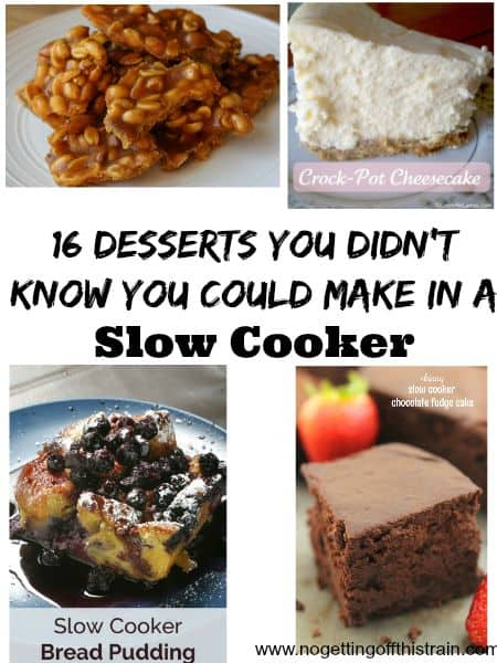 16 Desserts You Didn't Know You Could Make in a Slow Cooker