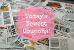 Today's Newest Coupons 12-13-15