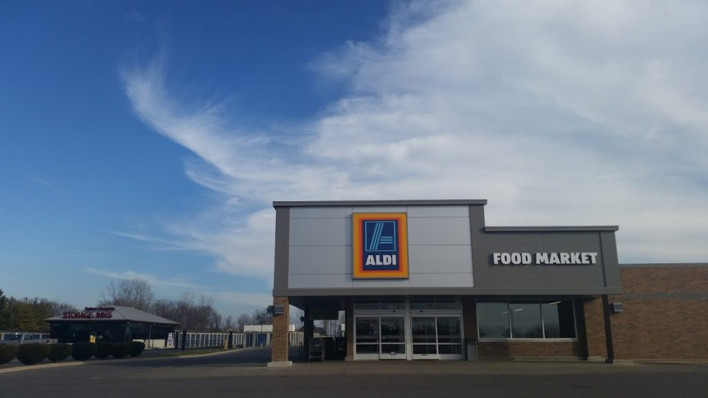 Image of an Aldi grocery store