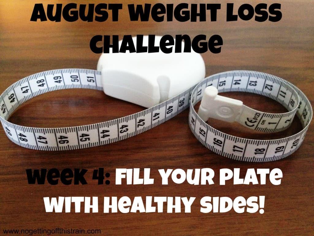 august weight loss week 4