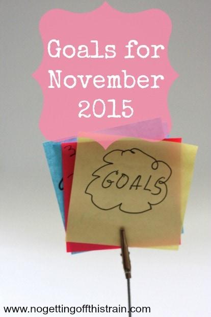Goals 11-2015
