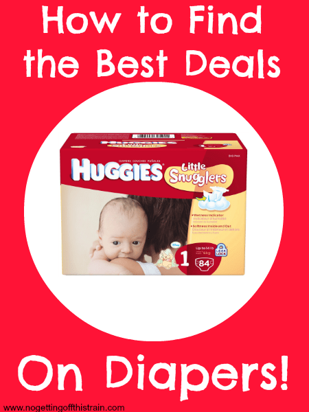 How to Find the Best Deals on Diapers