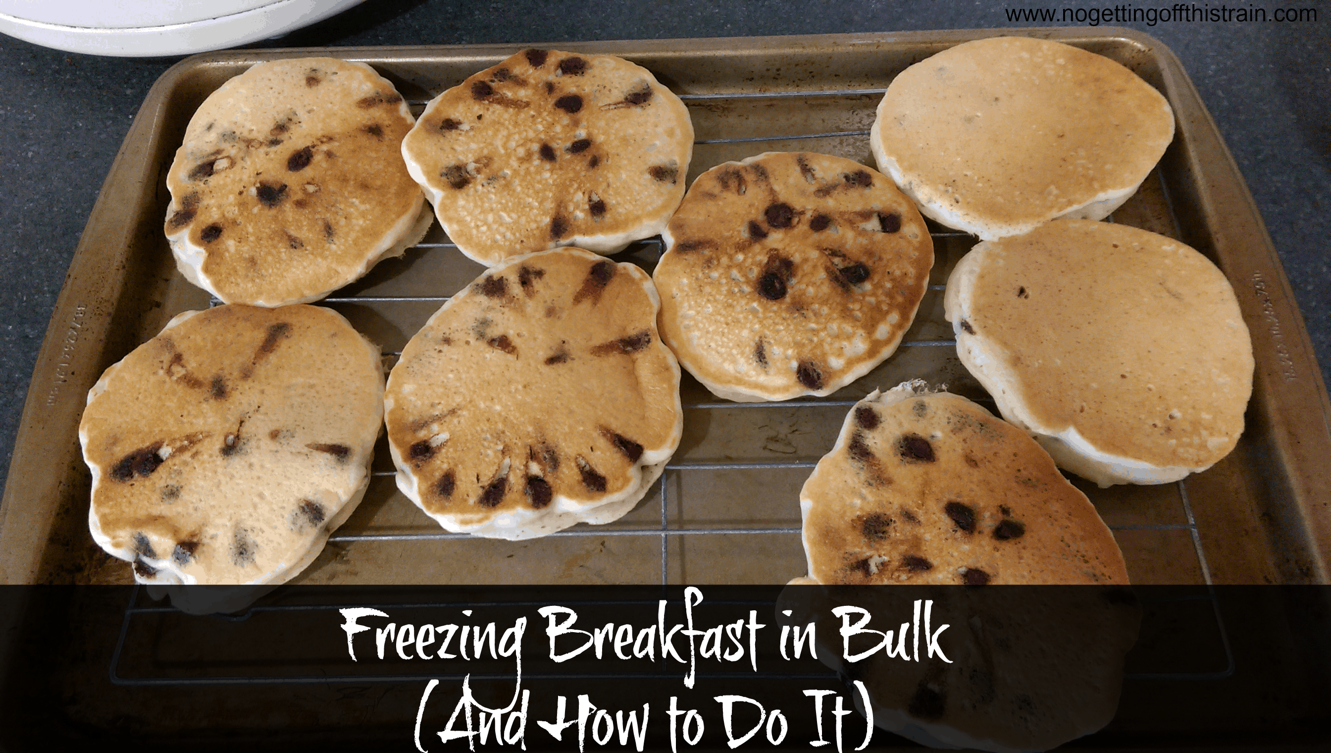 Freezing Breakfast in Bulk and How to Do It