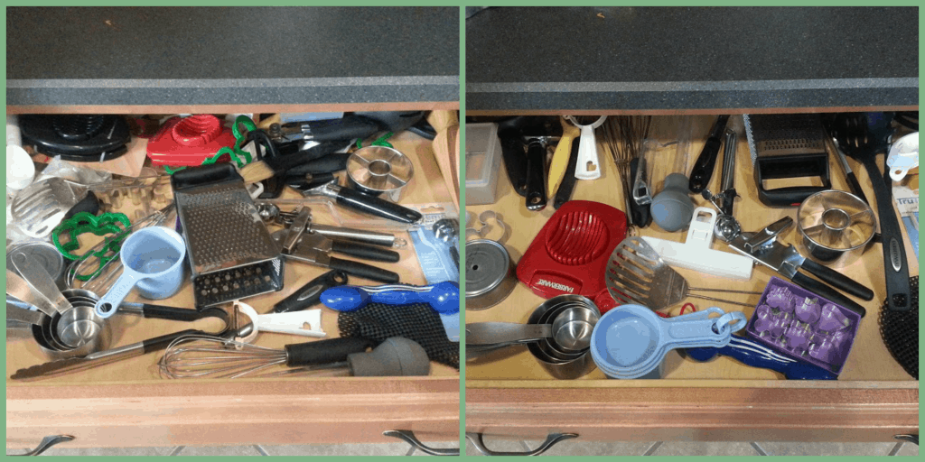 The new year is a great time to organize your home! De-clutter and relax knowing that your home is more in order! Week 4: Kitchen and Miscellaneous. www.nogettingoffthistrain.com