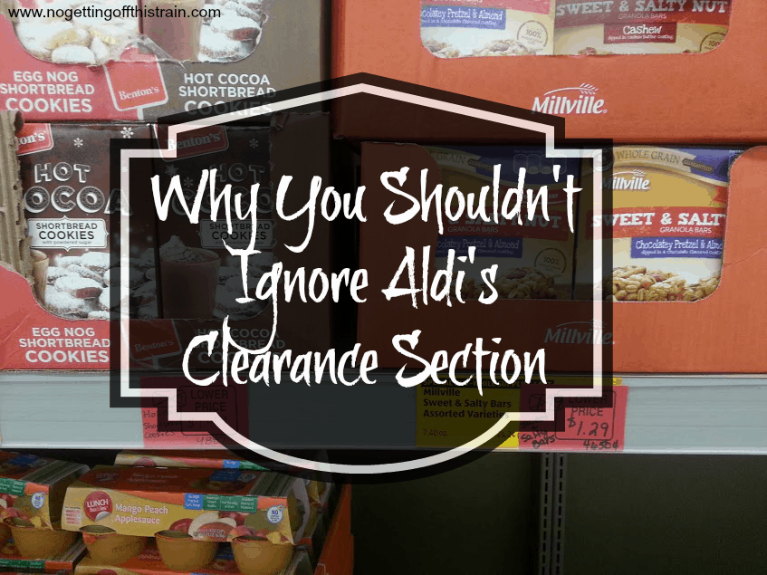 Why You Shouldn't Ignore Aldi's Clearance Section
