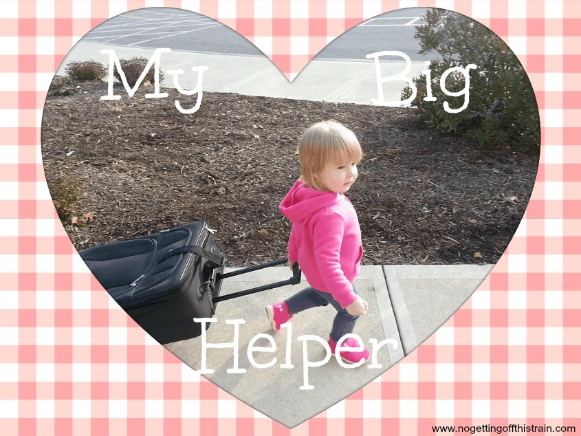 My Big Helper: www.nogettingoffthistrain.com