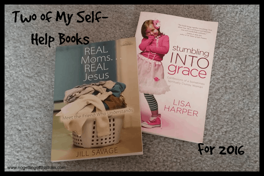 Two of my self-help books for 2016. www.nogettingoffthistrain.com