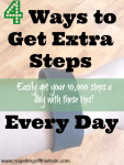 4 Ways to Get Extra Steps Every Day