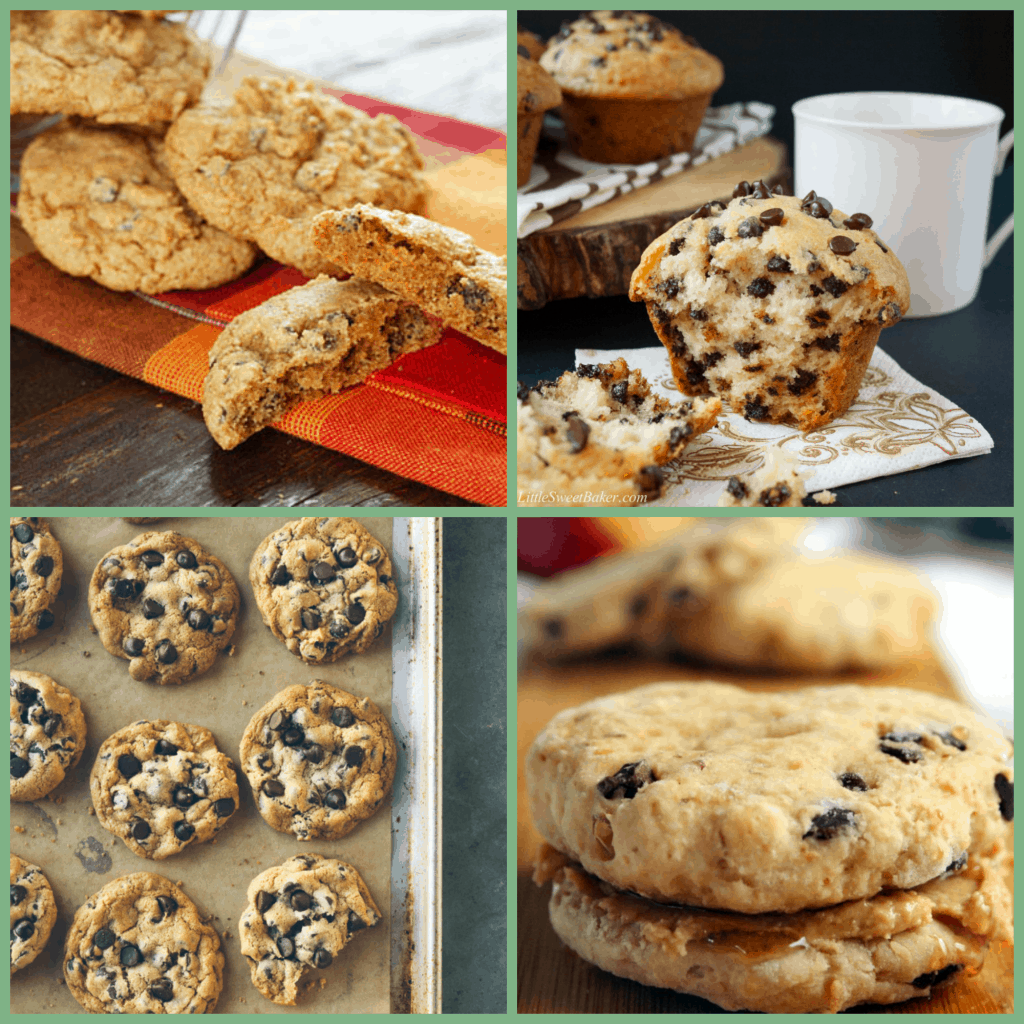 Celebrate Chocolate Chip Day with one (or more) of these 12 delicious recipes! www.nogettingoffthistrain.com