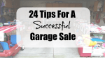 24 Tips For a Successful Garage Sale