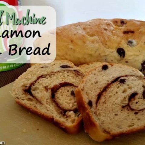 Bread Machine Cinnamon Raisin Bread