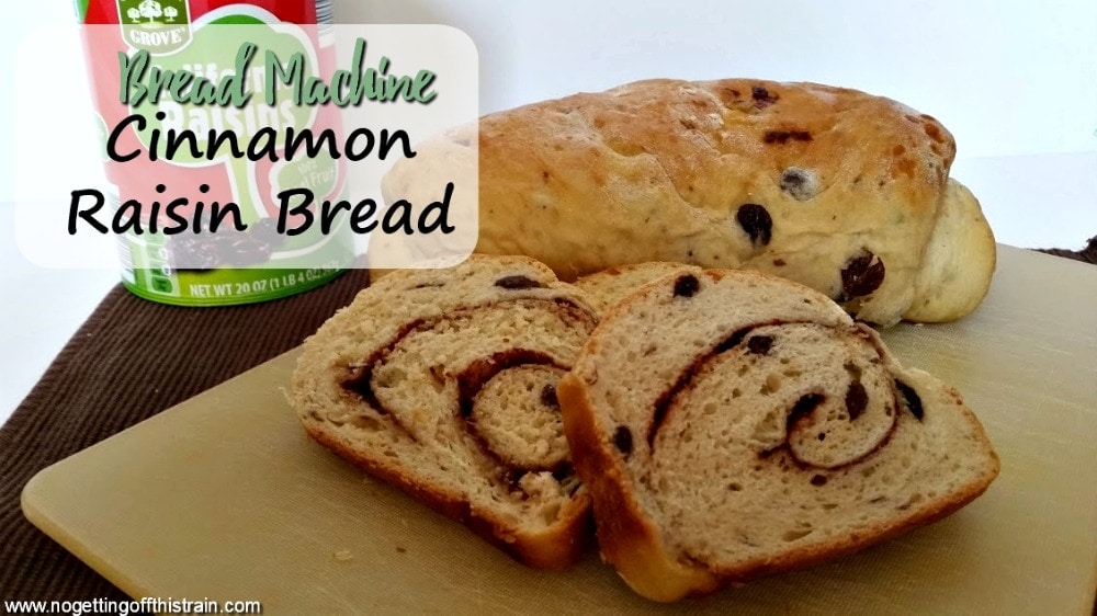 This Bread Machine Cinnamon Raisin Bread is the best breakfast recipe! Enjoy it as a special weekend or holiday breakfast to share.