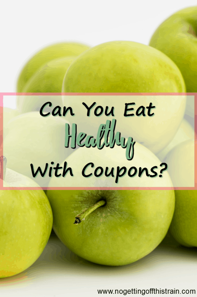 Is it possible to eat healthy with coupons? Here are 3 ways to save money while eating good, healthy food!