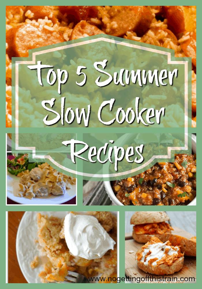 Top 5 Summer Slow Cooker Recipes