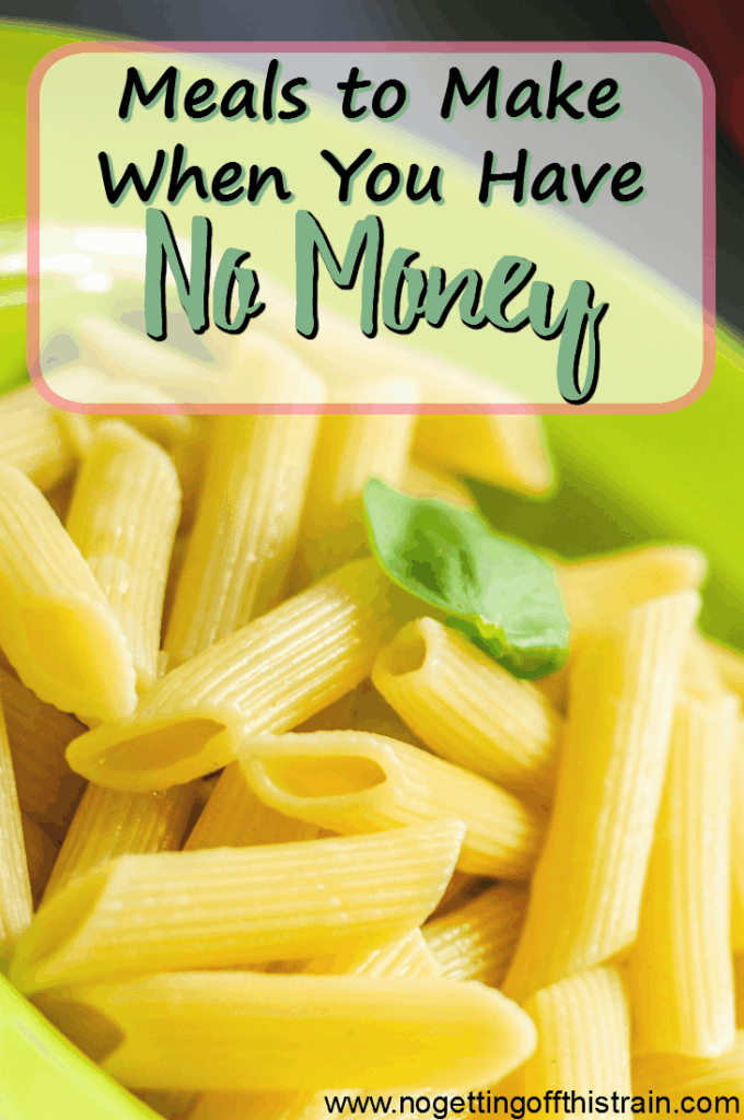 If you find yourself with limited funds for groceries and need meal ideas, here are some meals you can make when you have no money.
