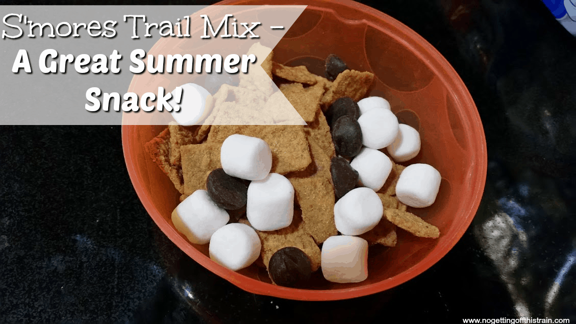 S'mores Trail Mix- A Great Summer Snack!