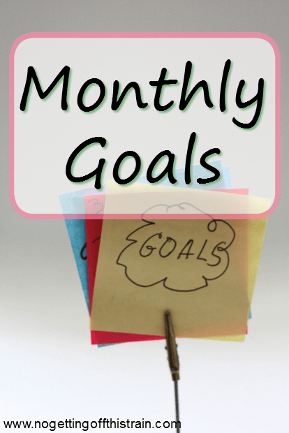 Goals for March 2017