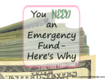 You NEED an Emergency Fund- Here's Why