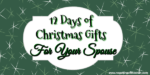 12 Days of Christmas Gifts For Your Spouse