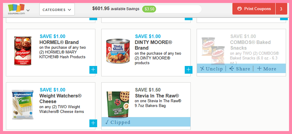 Learn how to coupon efficiently with Coupons.com! Here's a guide on how to get the most out of your grocery money.