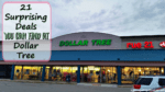 21 Surprising Deals You Can Find At Dollar Tree