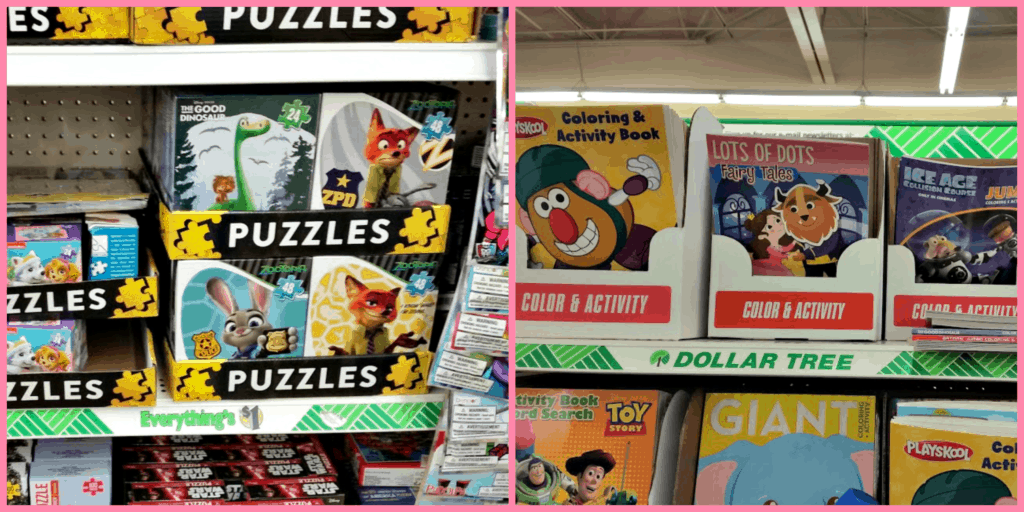 think you cant get good deals at dollar tree the results may surprise - Dollar Tree Coloring Books
