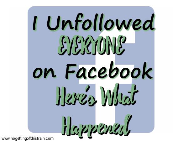 Facebook unfollow me Q&A: How